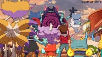 電影版妖怪手錶:飛天巨鯨與兩個世界的大冒險喵!劇照