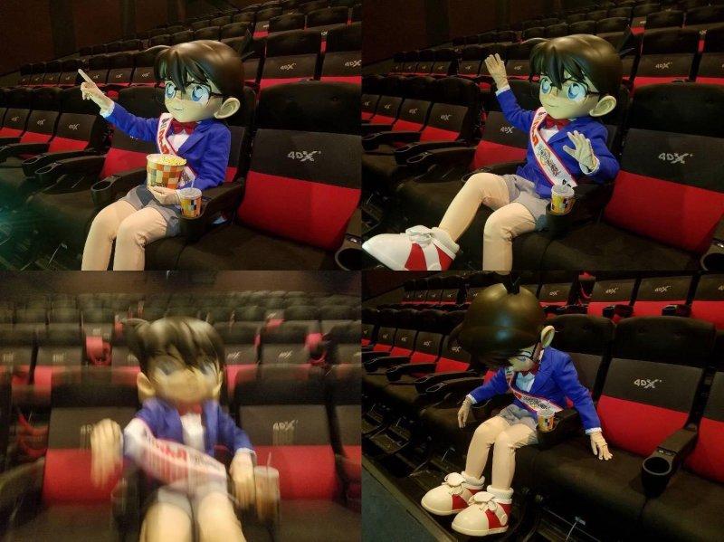 《名偵探柯南:零的執行人》4DX版劇照