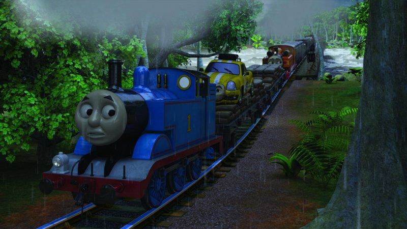 湯瑪士小火車:環遊世界大冒險劇照