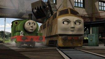 湯瑪士小火車電影版柴油火車的祕密行動劇照