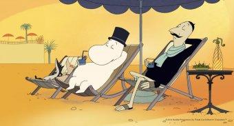 嚕嚕米漫遊蔚藍海岸劇照