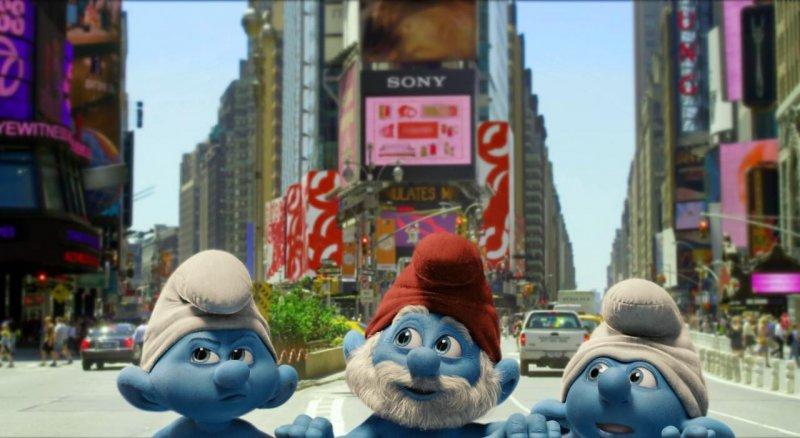 蓝色小精灵 the smurfs 剧照 - yahoo奇摩电影图片