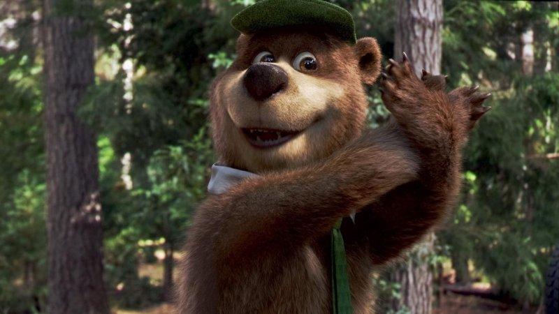 瑜珈熊劇照