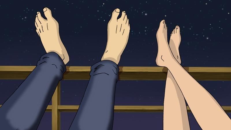 腳趾上的星光劇照