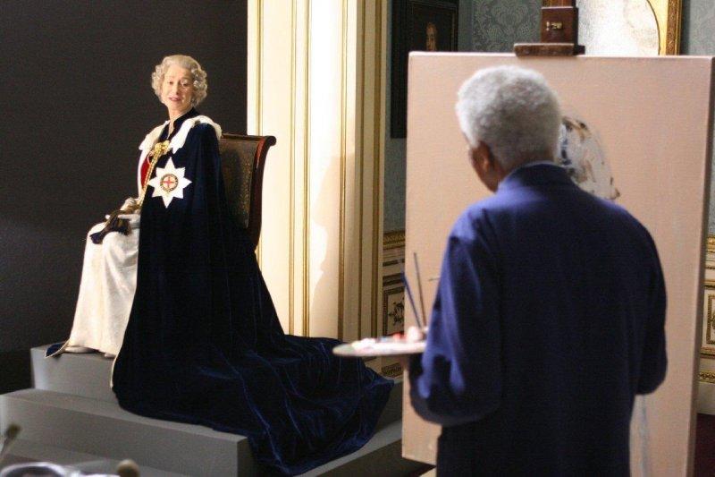 黛妃與女皇劇照