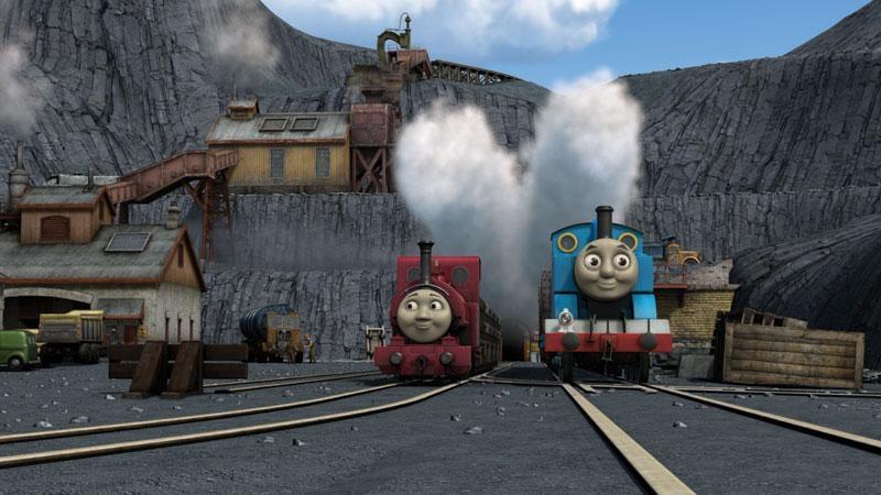 湯瑪士小火車電影版:藍山礦場的祕密劇照